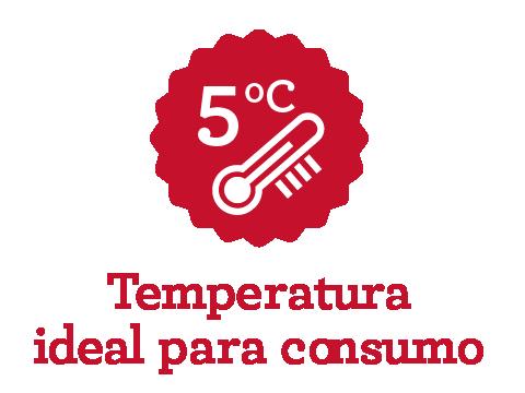 Temperatura ideal de consumo da Macaco Molhado
